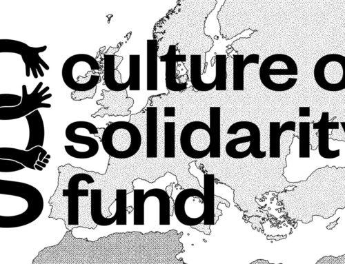 Abertura de candidaturas para o Culture of Solidarity Fund | 2020
